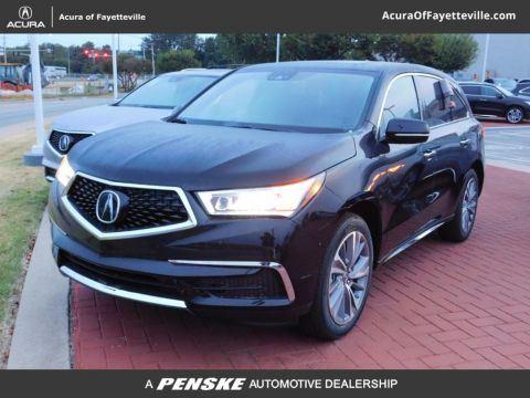 New 2017 Acura MDX SH-AWD with Technology Package With Navigation