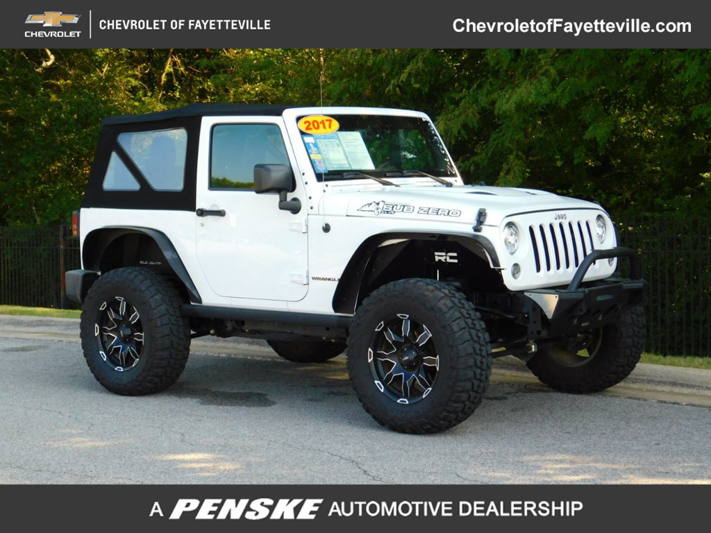 Pre-Owned 2017 Jeep Wrangler Rubicon 4x4