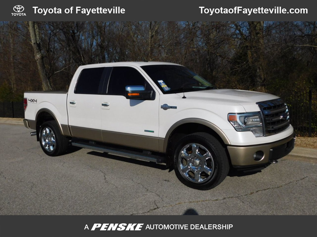 "Pre-Owned 2013 Ford F-150 4WD SuperCrew 145"" King Ranch"