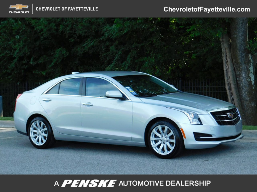 Pre-Owned 2017 Cadillac ATS Sedan 4dr Sedan 2.0L RWD