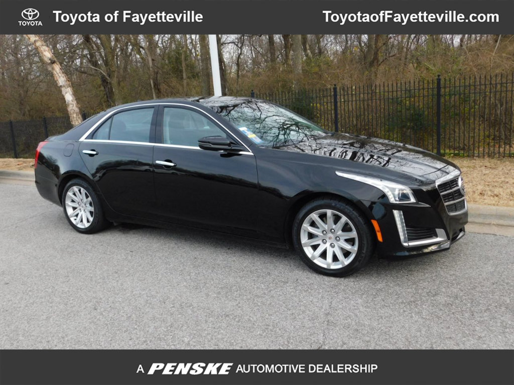 Pre-Owned 2014 Cadillac CTS Sedan 4dr Sedan 3.6L Luxury RWD