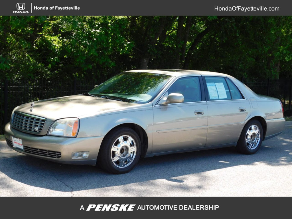 Pre-Owned 2003 Cadillac DeVille 4dr Sedan