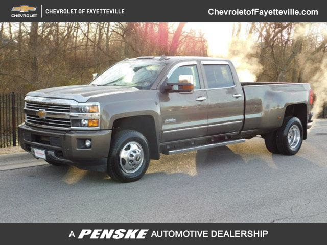 Pre Owned 2015 Chevrolet Silverado 3500hd 4wd Crew Cab 167 7 High