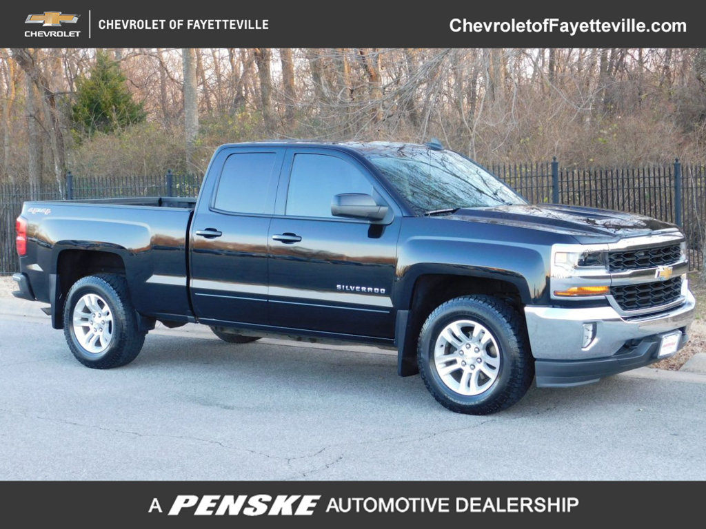 Pre-Owned 2016 Chevrolet Silverado 1500 4WD Double Cab 143.5