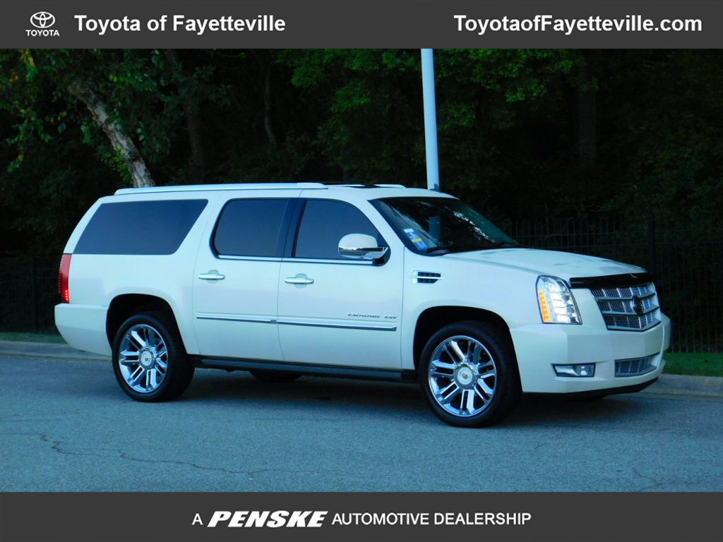 Pre-Owned 2012 Cadillac Escalade ESV AWD 4dr Platinum Edition