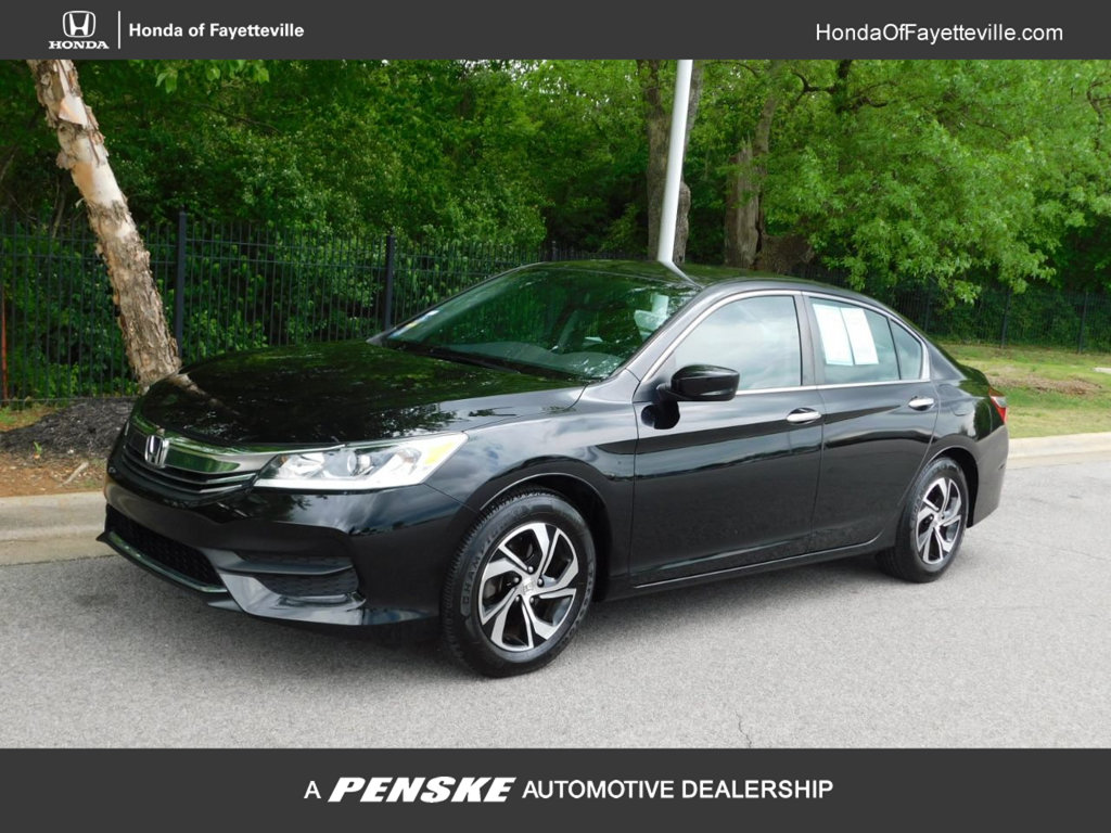 Pre Owned 2016 Honda Accord Sedan 4dr I4 Cvt Lx
