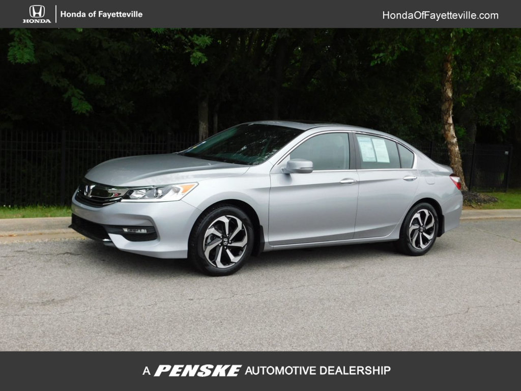 Pre-Owned 2017 Honda Accord Sedan EX-L CVT