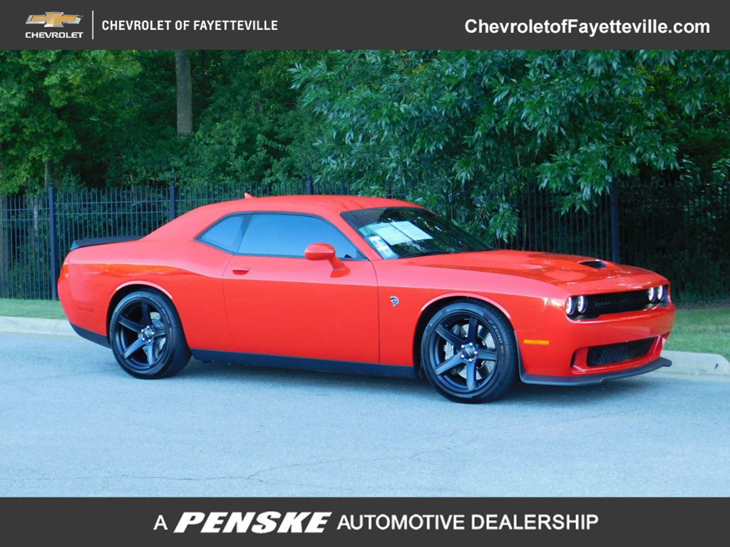 Pre-Owned 2018 Dodge Challenger SRT Hellcat Coupe