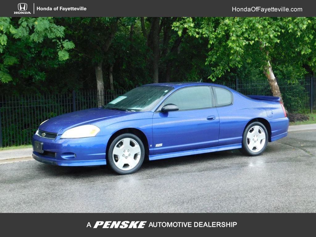 Pre-Owned 2006 Chevrolet Monte Carlo 2dr Coupe SS