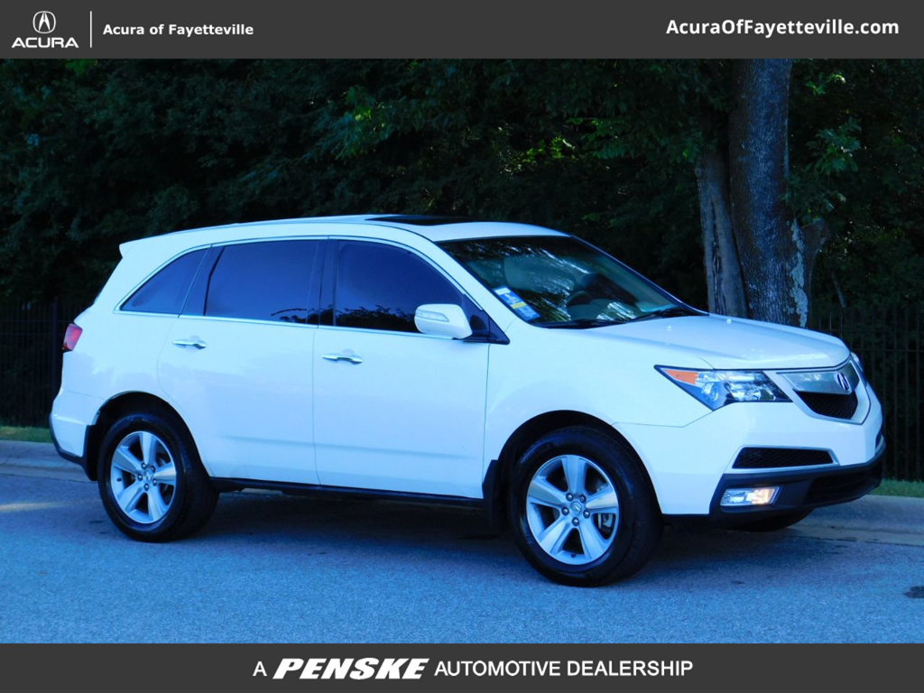 Acura Of Fayetteville >> Pre Owned 2010 Acura Mdx Awd 4dr Technology Pkg Suv