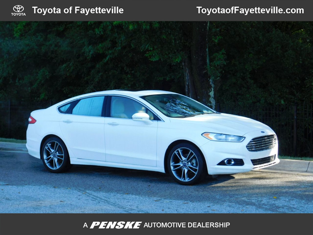 Pre-Owned 2016 Ford Fusion 4dr Sedan Titanium FWD