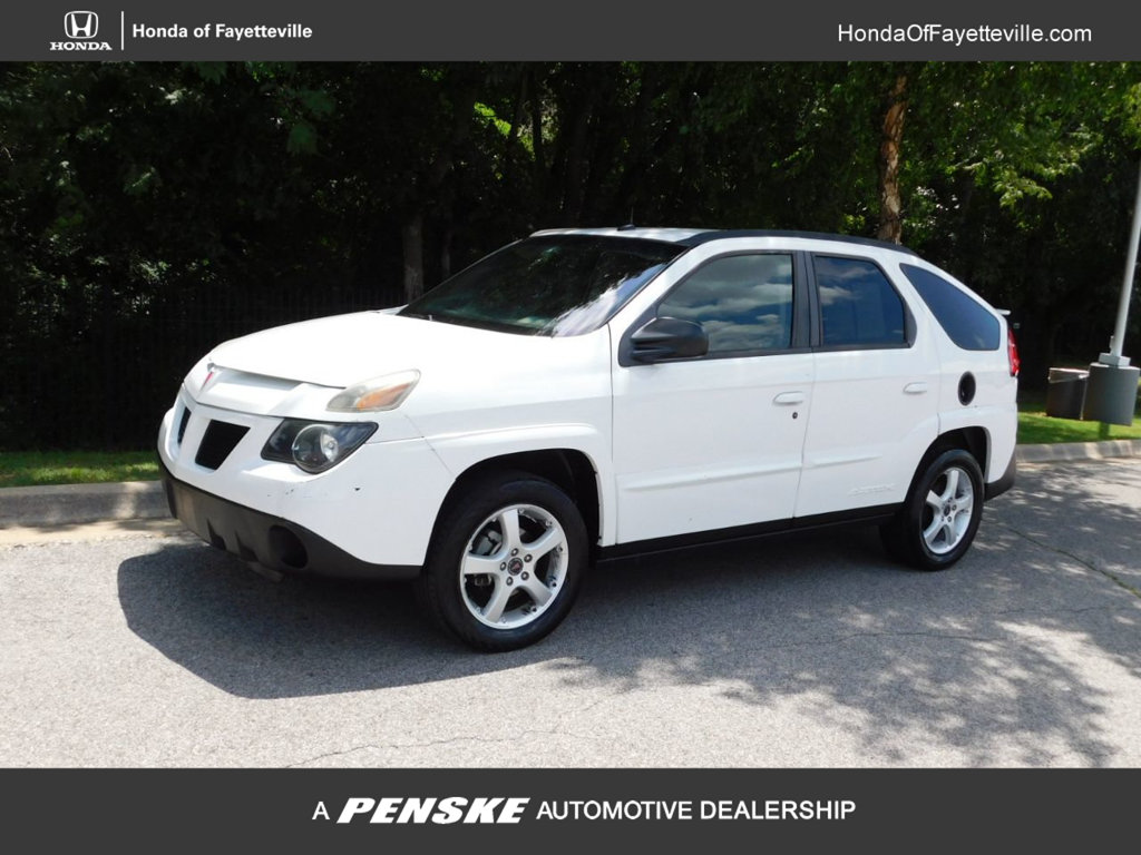 Pre-Owned 2003 Pontiac Aztek 4dr All Purpose FWD