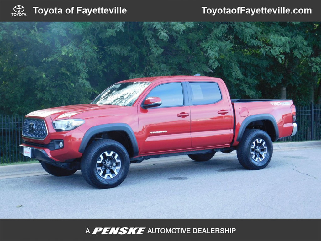 Pre-Owned 2018 Toyota Tacoma TRD Off Road Double Cab 5' Bed V6 4x4 Automatic
