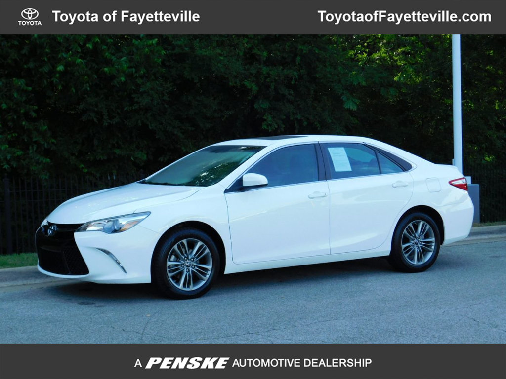 Pre-Owned 2016 Toyota Camry 4dr Sedan I4 Automatic SE