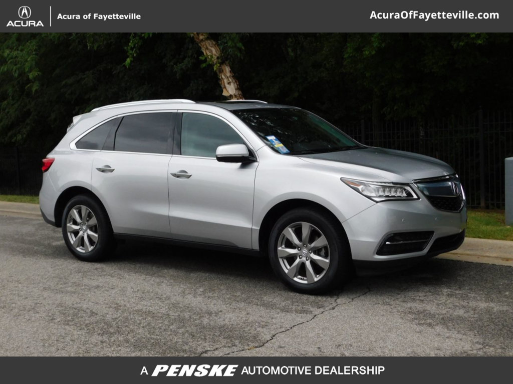 Pre-Owned 2014 Acura MDX AWD 4dr Advance/Entertainment Pkg