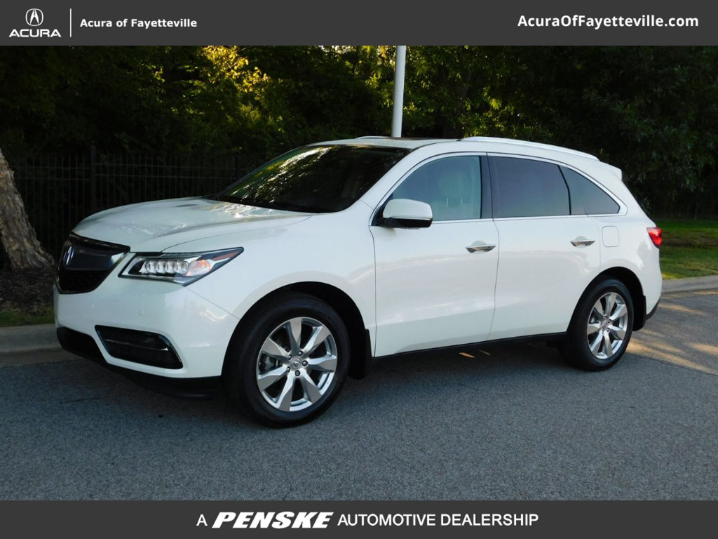 Acura Of Fayetteville >> Certified Pre Owned 2016 Acura Mdx Sh Awd With Advance Package Suv
