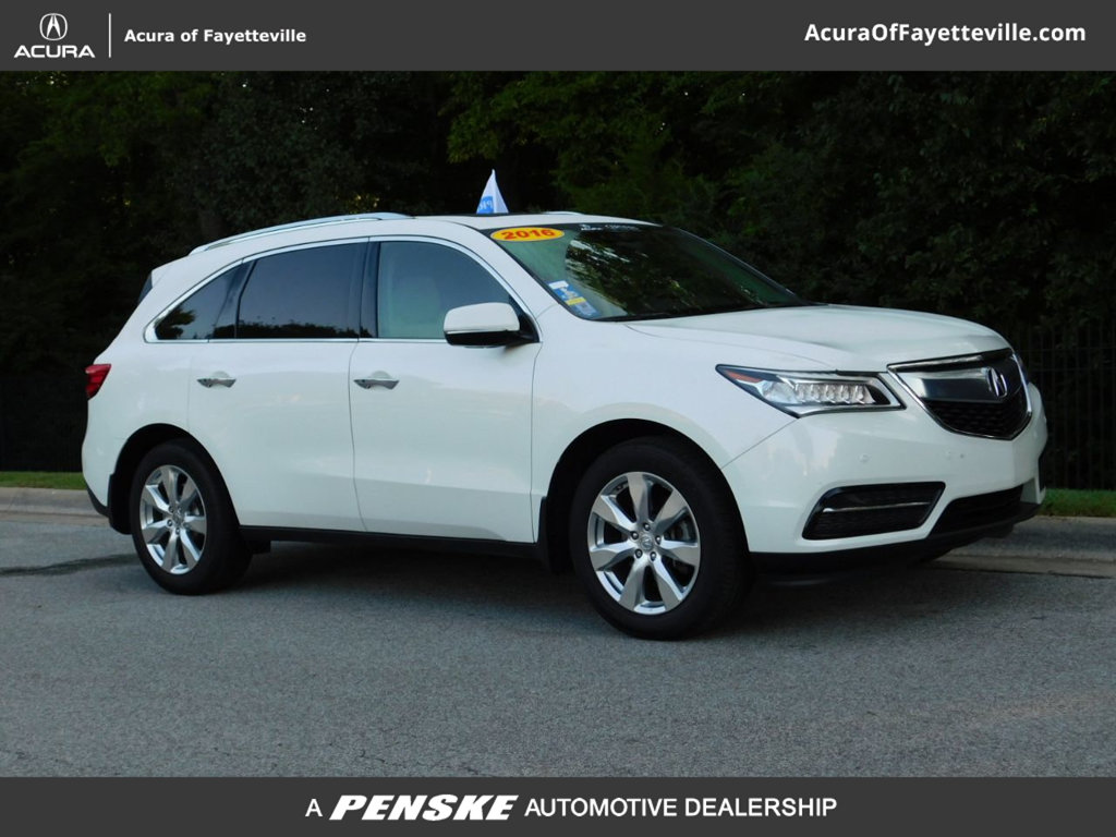 Pre-Owned 2016 Acura MDX SH-AWD 4dr w/Advance/AcuraWatch Plus