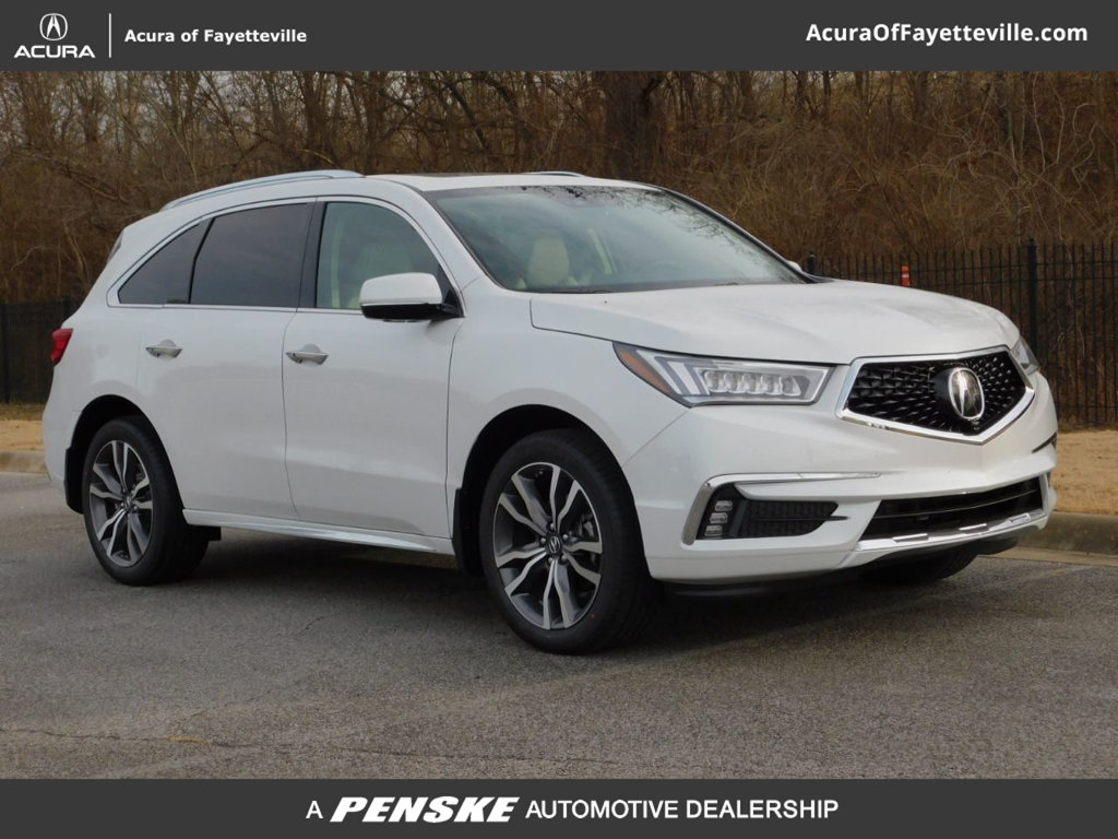 New 2020 Acura Mdx Sh Awd With Advance Package With Navigation