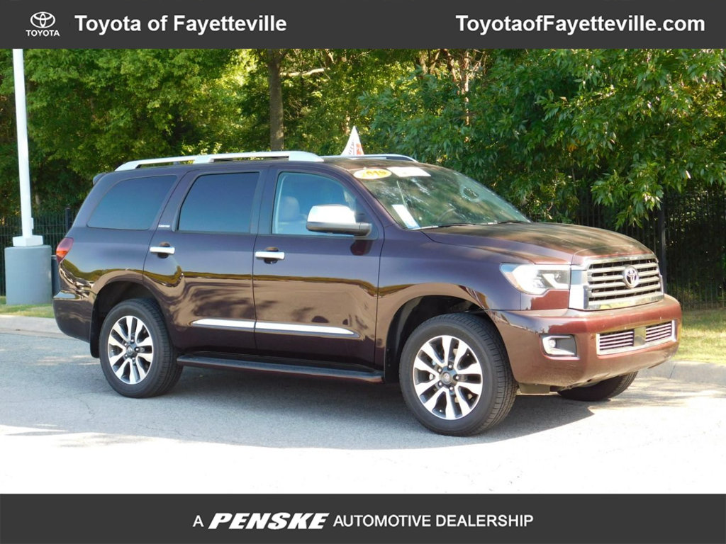 Pre-Owned 2019 Toyota Sequoia Limited RWD