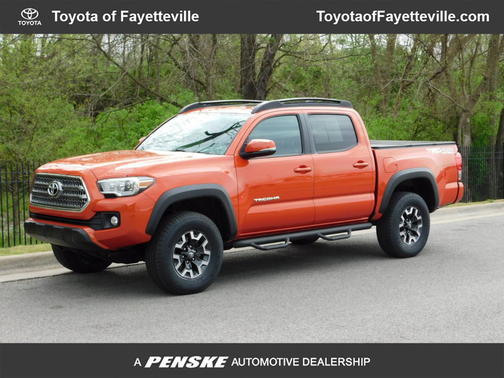Pre Owned 2017 Toyota Tacoma Trd Off Road Double Cab 5 Bed V6 4x4