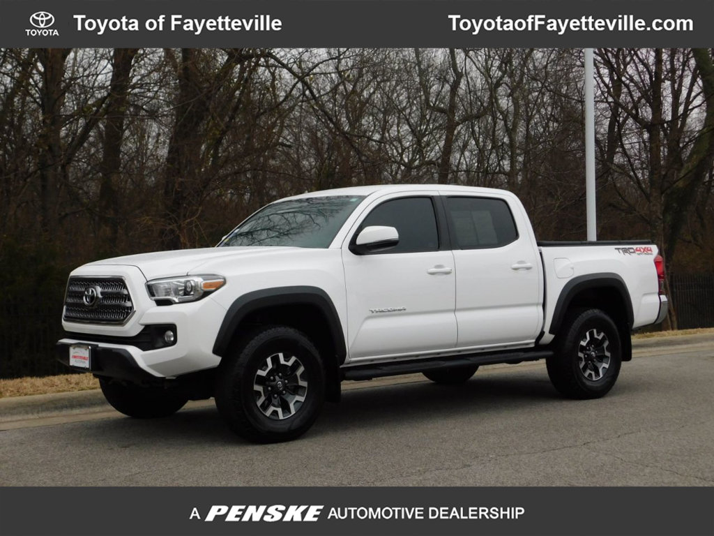 Pre Owned 2016 Toyota Tacoma Trd Off Road Double Cab 4wd V6 Automatic