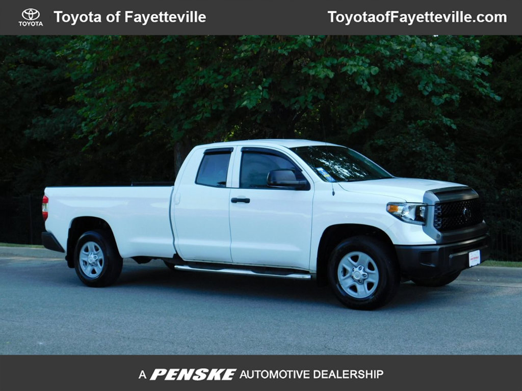 Pre-Owned 2018 Toyota Tundra 2WD SR Double Cab 8.1' Bed 5.7L