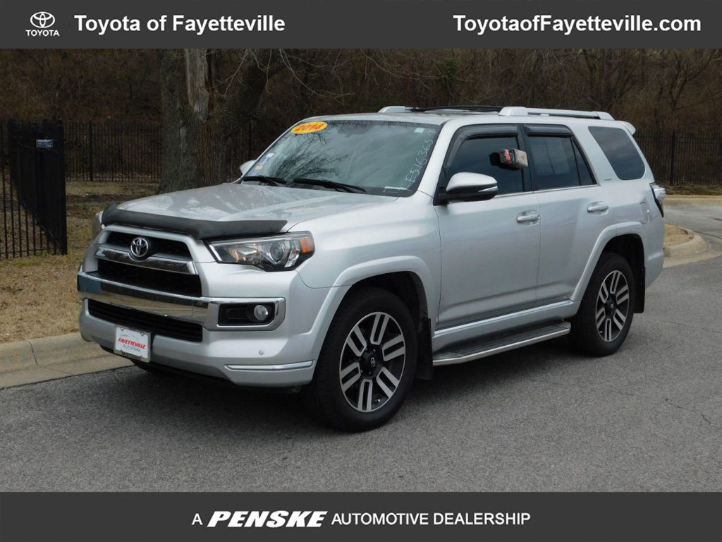pre-owned 2014 toyota 4runner 4wd 4dr v6 limited suv in fayetteville