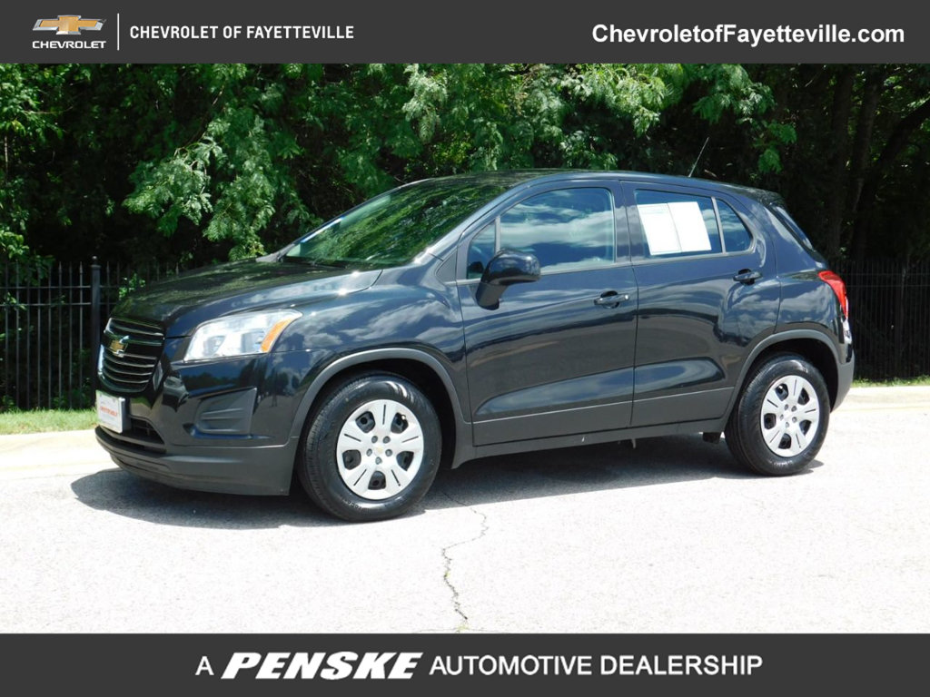 Pre-Owned 2016 Chevrolet Trax FWD 4dr LS w/1LS