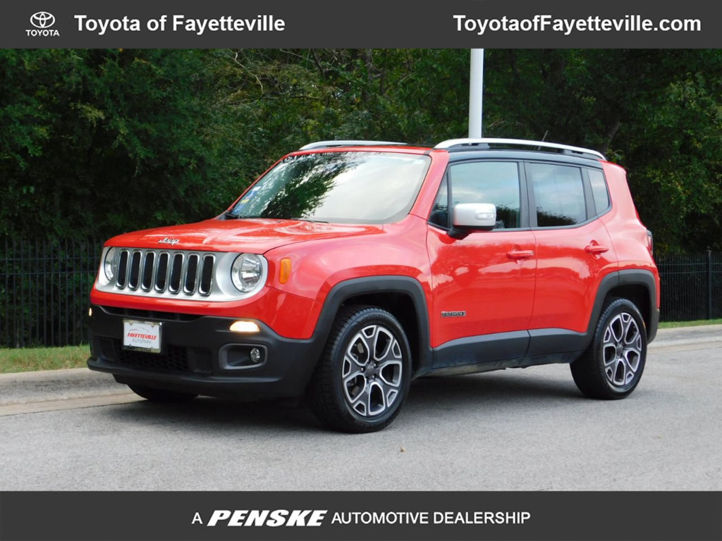 Pre Owned 2017 Jeep Renegade Limited Fwd