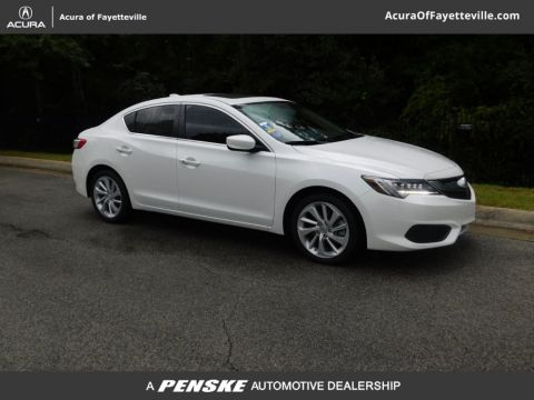 Pre-Owned 2018 Acura ILX Sedan w/Premium Pkg