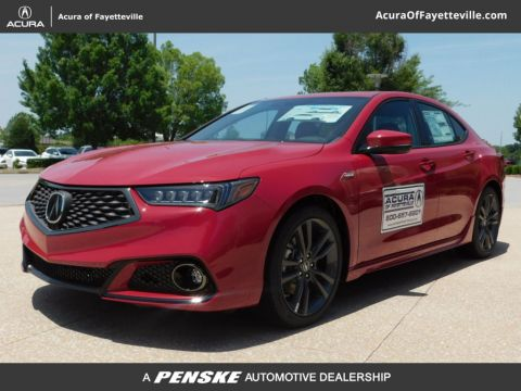 Pre-Owned 2019 Acura TLX FWD A-Spec Red