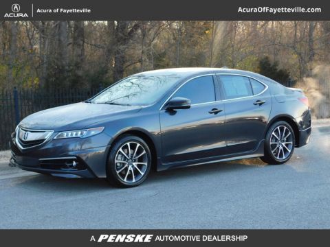 Certified Pre-Owned 2015 Acura TLX 3.5 V-6 9-AT SH-AWD with Advance Package