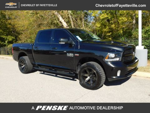 "Pre-Owned 2017 Ram 1500 Sport 4x4 Crew Cab 5'7"" Box"
