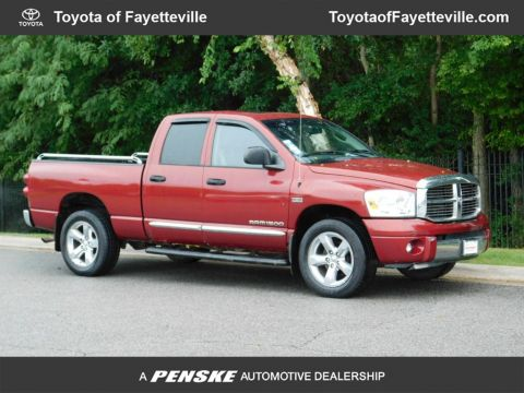 Pre-Owned 2007 Dodge Ram 1500 4WD Quad Cab 140 5