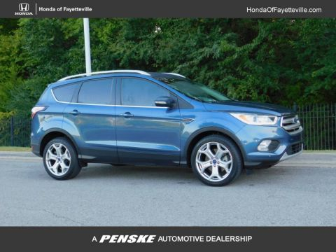 Pre-Owned 2018 Ford Escape Titanium FWD