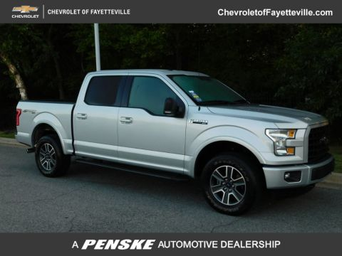 "Pre-Owned 2016 Ford F-150 4WD SuperCrew 145"" XLT"