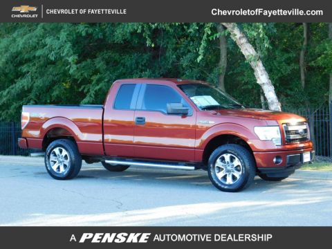"Pre-Owned 2014 Ford F-150 4WD SuperCab 145"" STX"