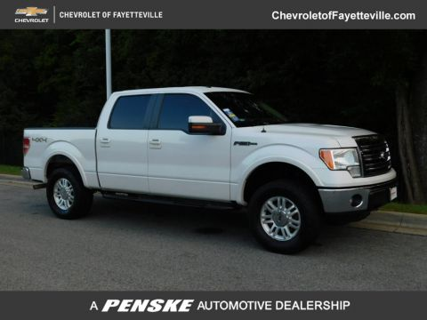 "Pre-Owned 2013 Ford F-150 4WD SuperCrew 145"" Lariat"
