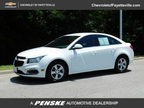 Pre-Owned 2015 Chevrolet CRUZE 4dr Sedan Automatic 1LT