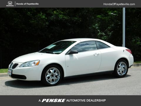 Pre-Owned 2007 Pontiac G6 2dr Convertible GT