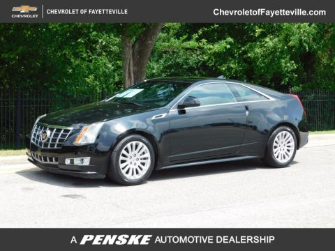 Pre-Owned 2012 Cadillac CTS Coupe 2dr Coupe Performance RWD