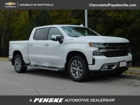 "Pre-Owned 2019 Chevrolet Silverado 1500 4WD Crew Cab 147"" High Country"