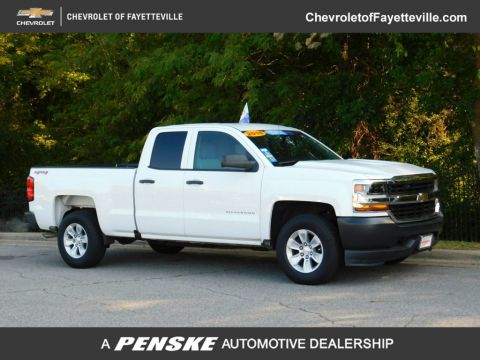 "Pre-Owned 2016 Chevrolet Silverado 1500 4WD Double Cab 143.5"" Work Truck"