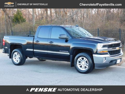 "Pre-Owned 2016 Chevrolet Silverado 1500 4WD Double Cab 143.5"" LT w/1LT"