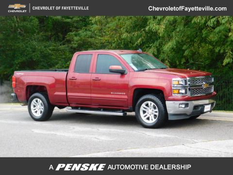 "Pre-Owned 2015 Chevrolet Silverado 1500 4WD Double Cab 143.5"" LT w/1LT"