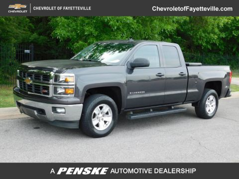 "Pre-Owned 2014 Chevrolet Silverado 1500 4WD Double Cab 143.5"" LT w/2LT"