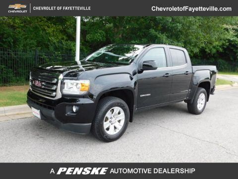 "Pre-Owned 2018 GMC Canyon 2WD Crew Cab 128.3"" SLE"