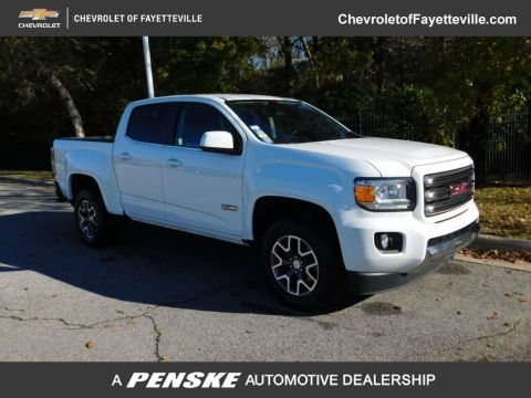 "Pre-Owned 2017 GMC Canyon 4WD Crew Cab 128.3"" SLE"