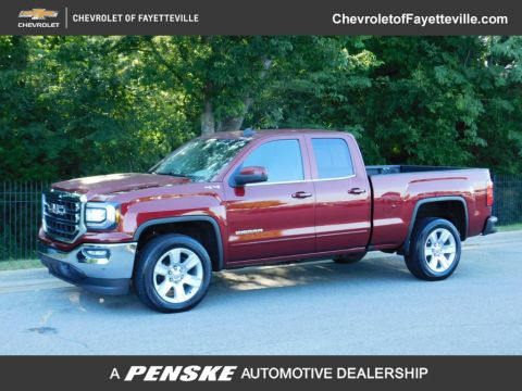 "Pre-Owned 2017 GMC Sierra 1500 4WD Double Cab 143.5"" SLE"