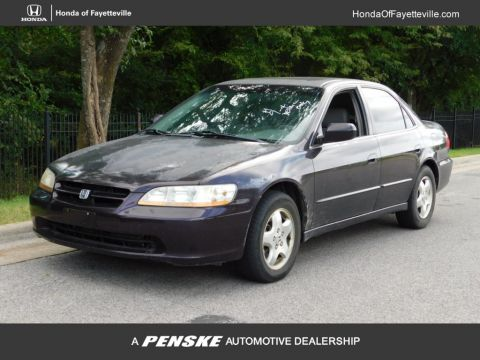 Pre Owned 1999 Honda Accord Sedan 4dr Sedan EX Automatic V6 W/Leather